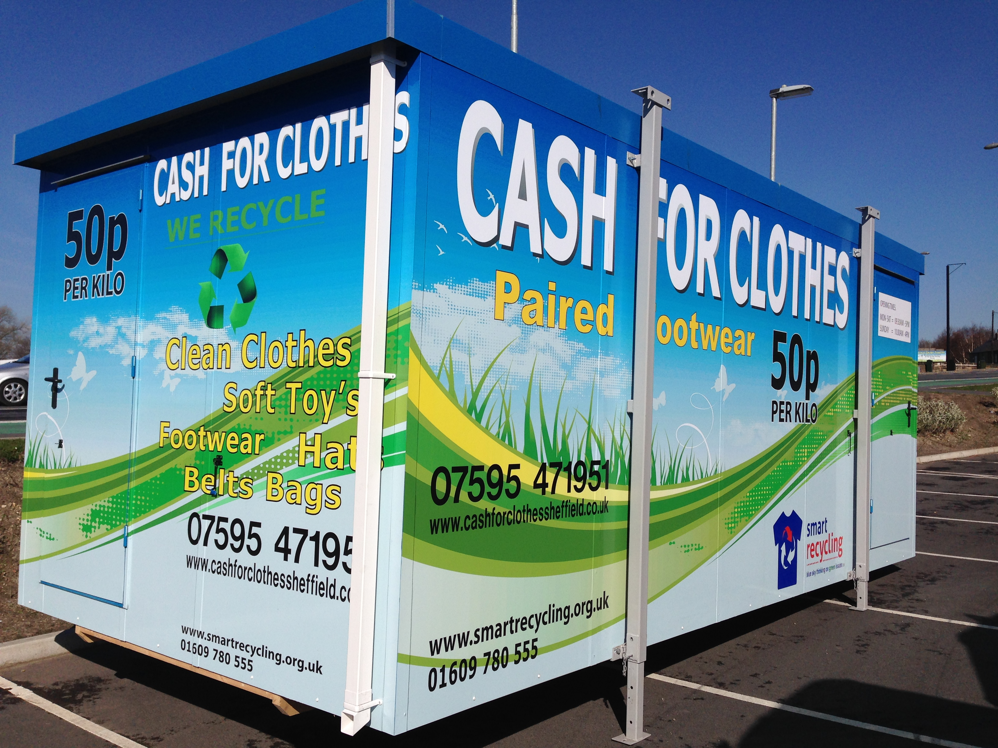 Cash For Clothes Barnsley